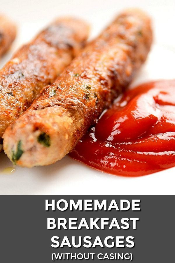 Homemade Sausage Recipe With Garlic And Parsley images