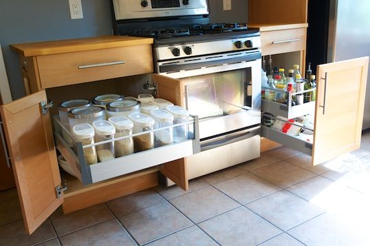 Chris Upgrades His Kitchen Cabinets With Ikea Drawer Pull Outs Kitchen Drawer Pulls Ikea Kitchen Drawers Outdoor Kitchen Cabinets