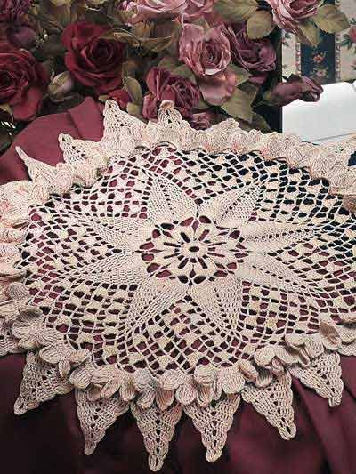 Starburst Doily Crochet Pattern Free Membership Required For Pattern