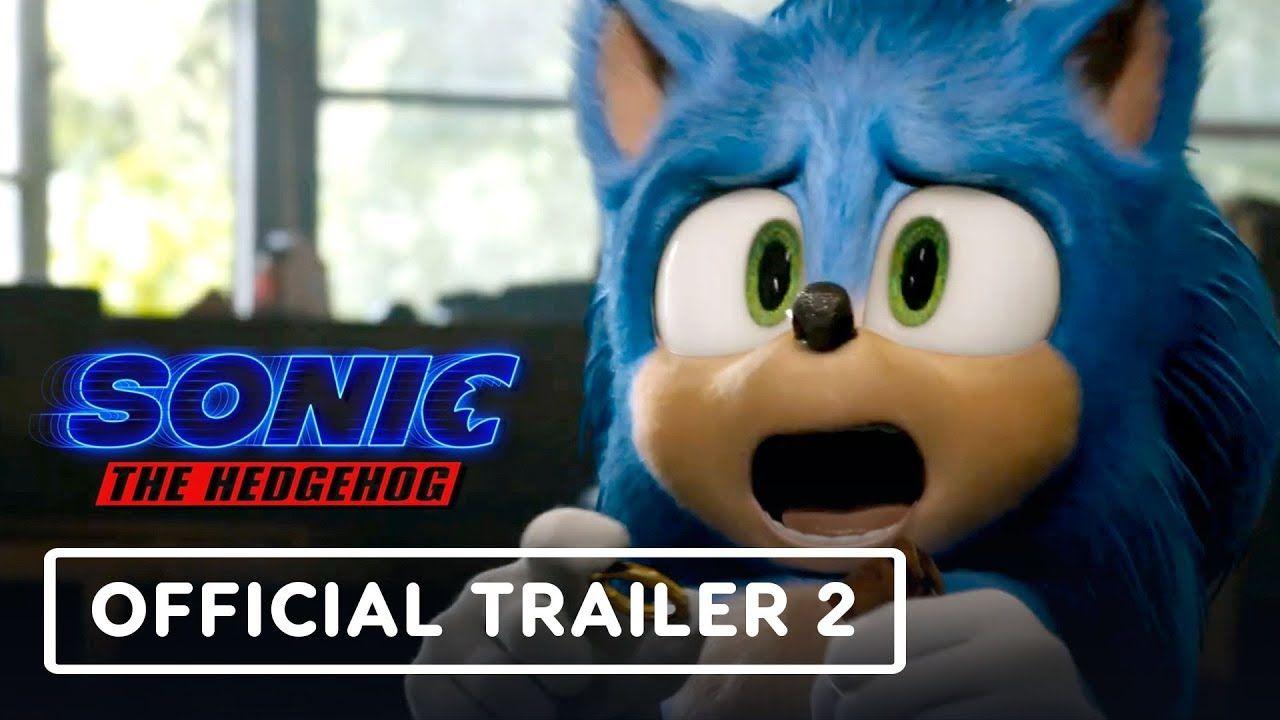 Sonic The Hedgehog 20 Movie Trailer   PeepsBurgh