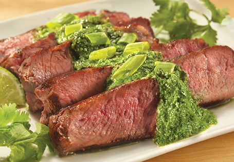 Chimichurri Marinated Ribeye | Summer grilling recipes ...