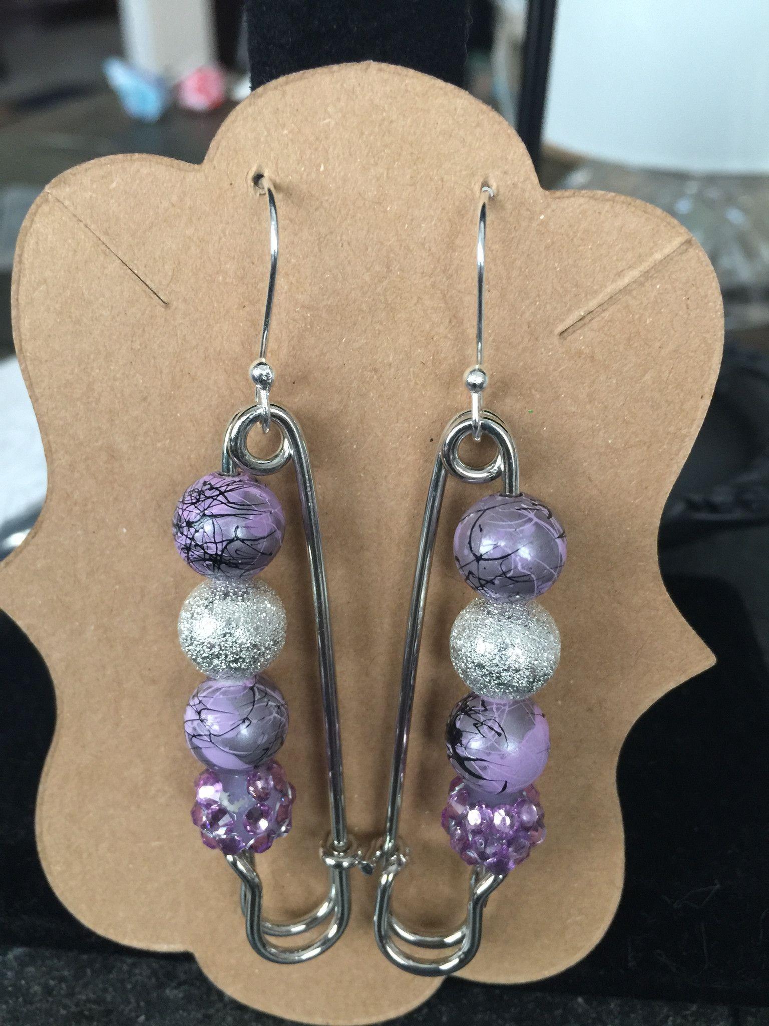 Safety Pin Earring Set Safety pin earrings, Earring set