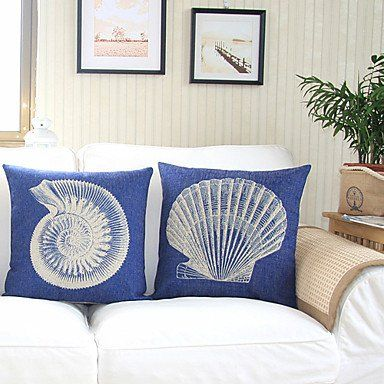 Bailand Nautical Theme Decorative Pillow Covers With Images