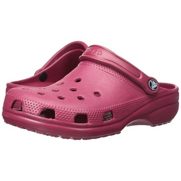 Crocs Classic 10001-6L0 Unisex Clogs & Pantoletten, neon magenta, Gr. 38-39 (M6/W8) Crocs