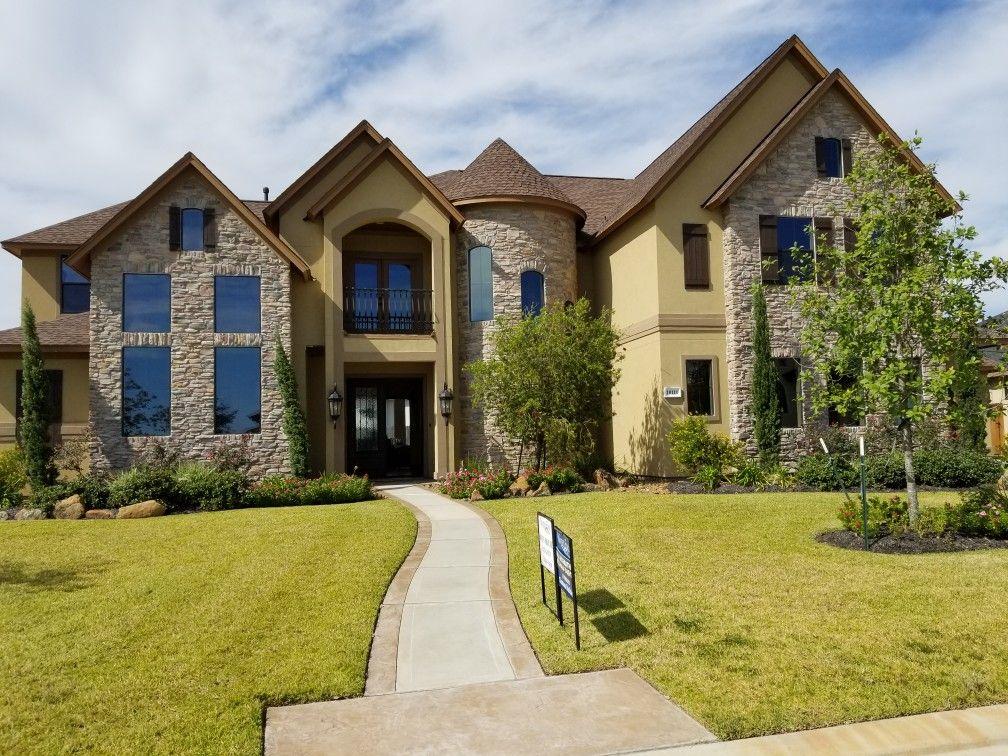Beautiful #luxury home built by Frontier Custom Builders in #Cypress