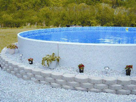 Voici 6 id es de terrasse et coffrage pour camoufler votre for Calcium plus pour piscine