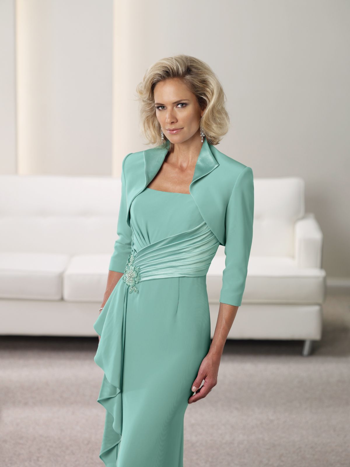 Colour: Ocean Mist - Stylish outfit for the Mother of the Bride or ...