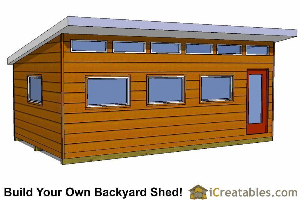 14x24 Modern Shed Plans Shedhouse Shed Plans Modern Shed Shed Design