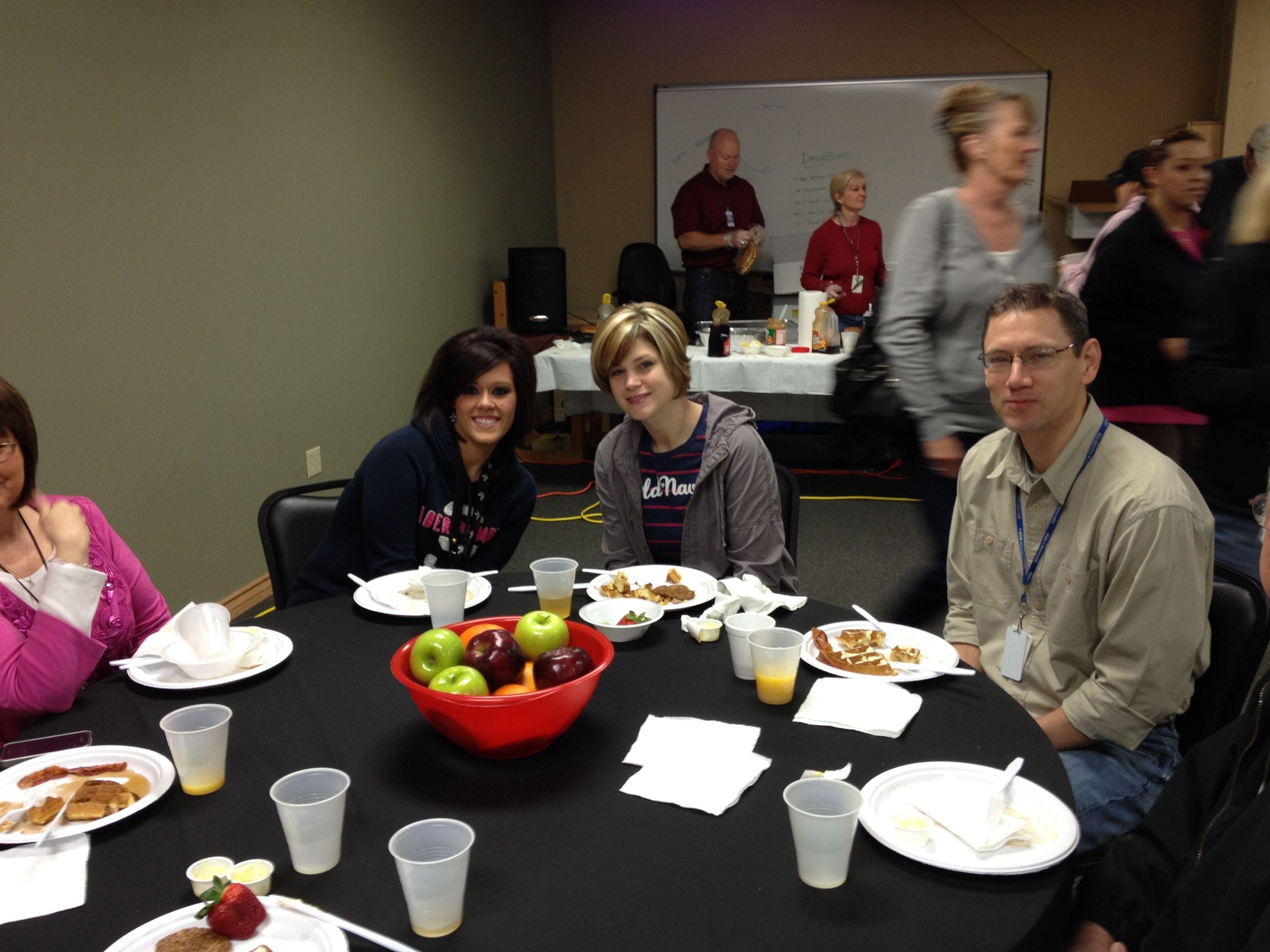 Employee Appreciation Breakfast 2012
