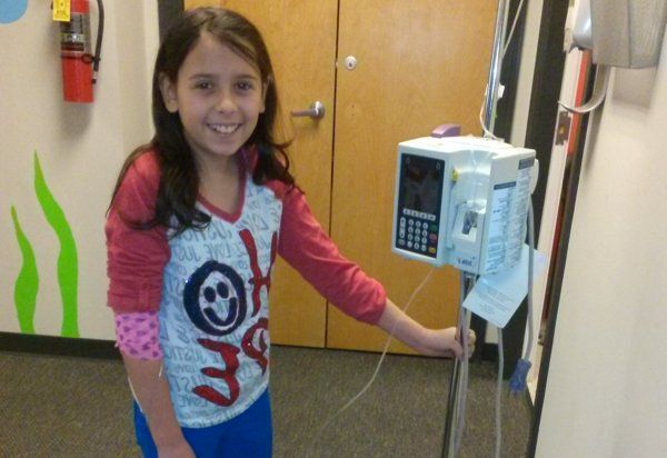 11-Year-Old Cancer Survivor Kylie Simonds Invents IV Backpack - Yahoo b17a193ed53bf