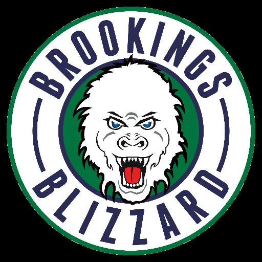 Brookings Blizzard Logo Nahl American Hockey League Hockey Logos Hockey Teams