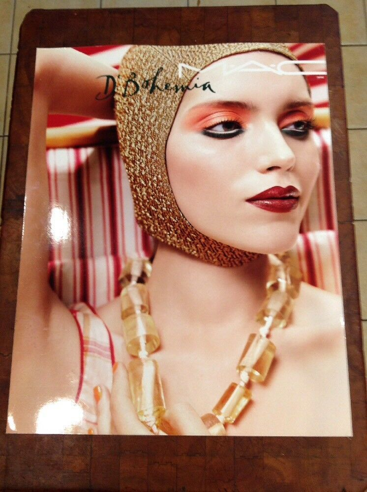 Mac Cosmetics 22x28 Advertising Sign D' Bohemia eBay