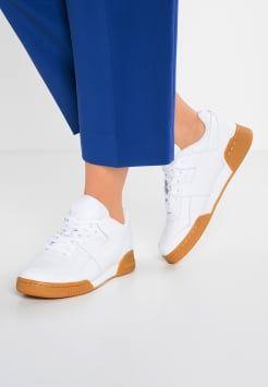 Reebok Classic - WORKOUT LO PLUS GAG - Sneakers laag - white ...