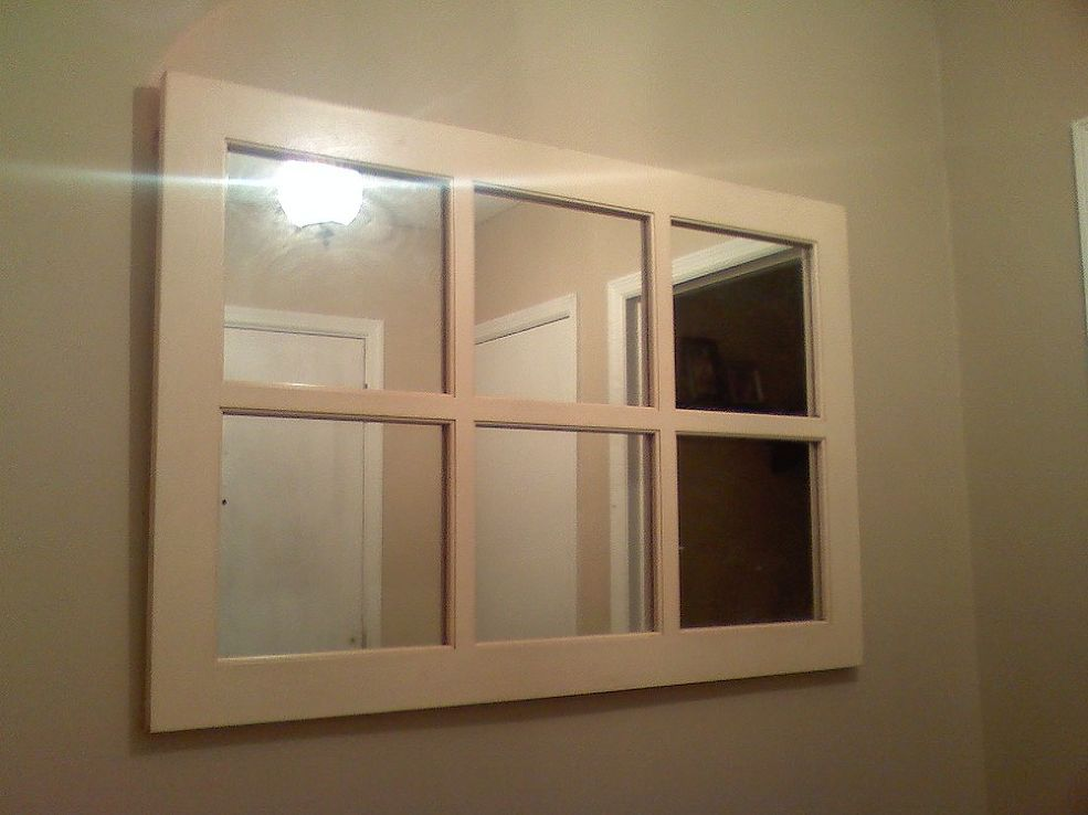 Hanging a heavy mirror/picture without studs   Craft Ideas ...