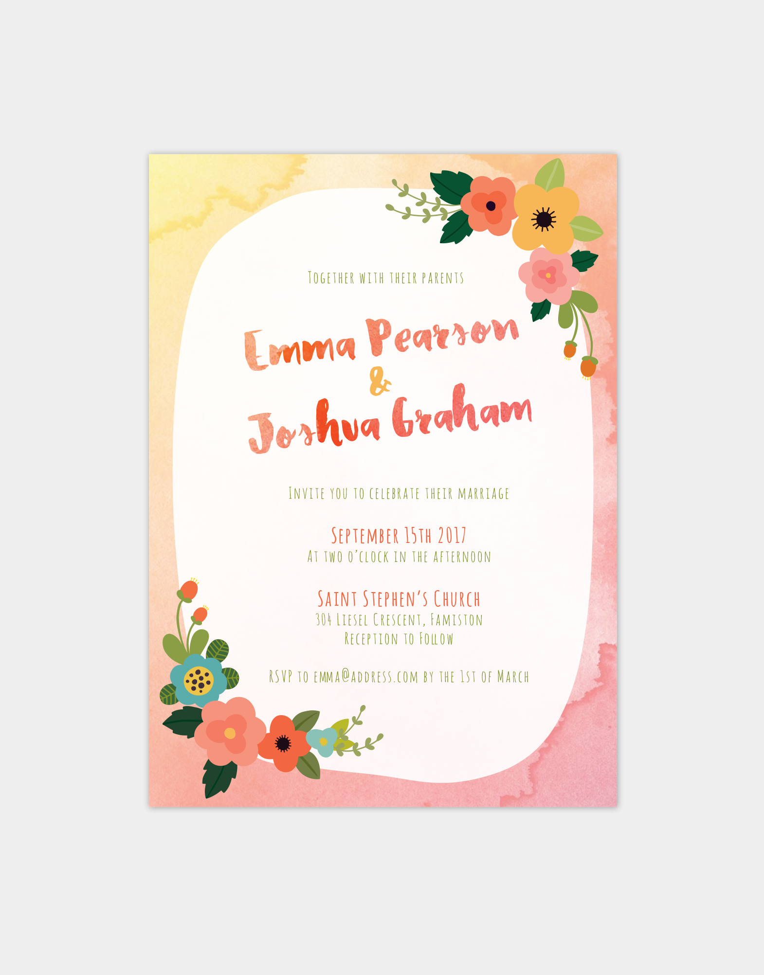 We Believe In High Quality Wedding Stationery Design Thats Edgy And