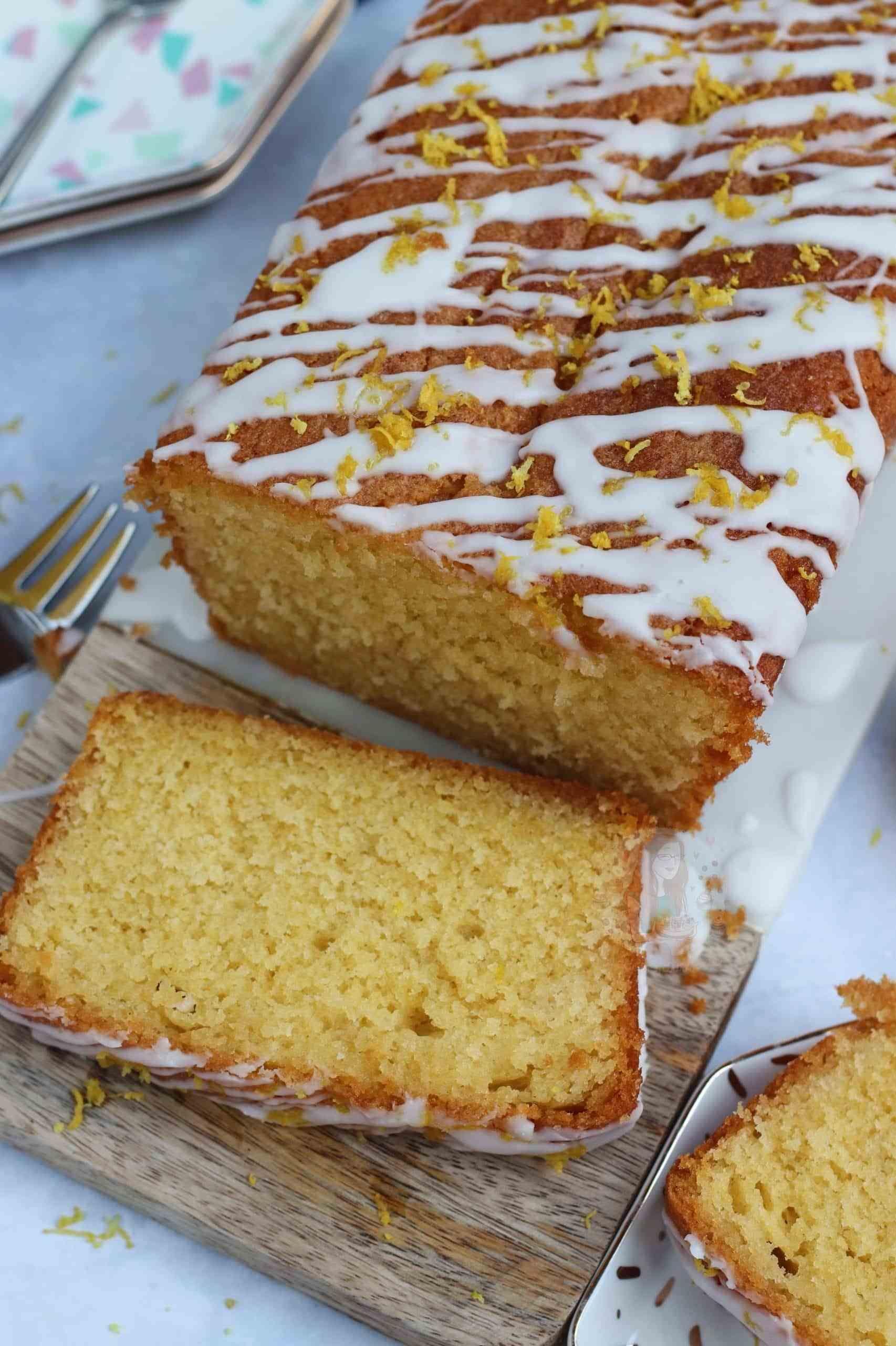 Lemon Drizzle Loaf Cake In 2020 Janes Patisserie Baking Recipes Loaf Cake