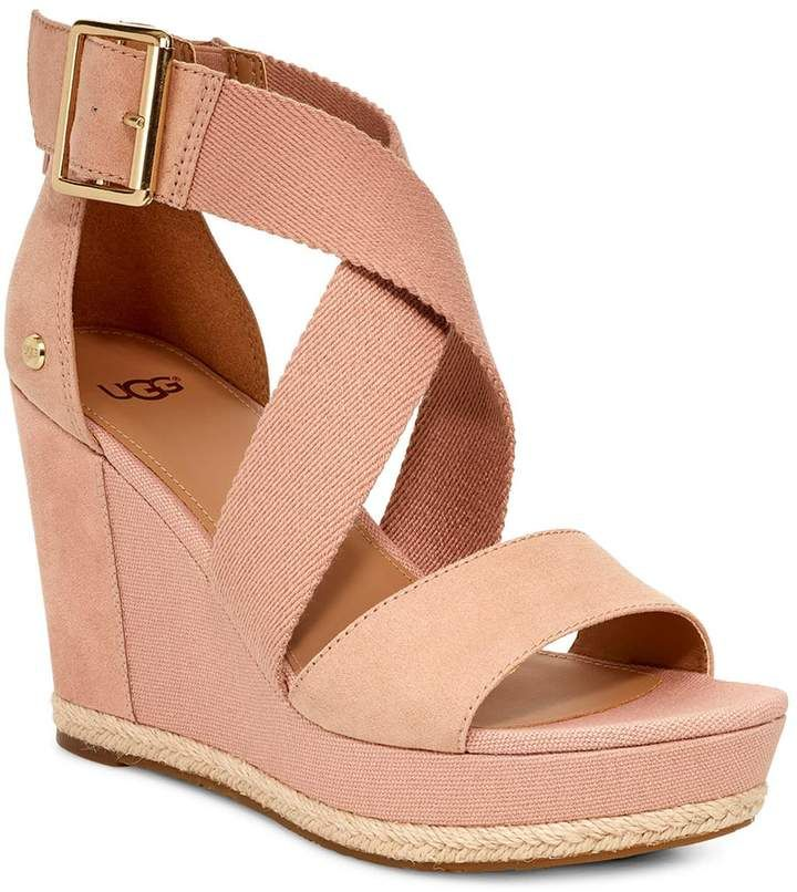 594a18b3545 Women's Ugg Calla Wedge Sandal, Size 6 M - Pink in 2019 | Products ...