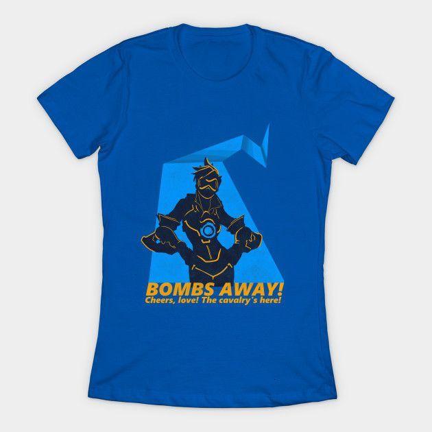 Cheers, Love! The Cavalry's Here! Womens T-Shirt