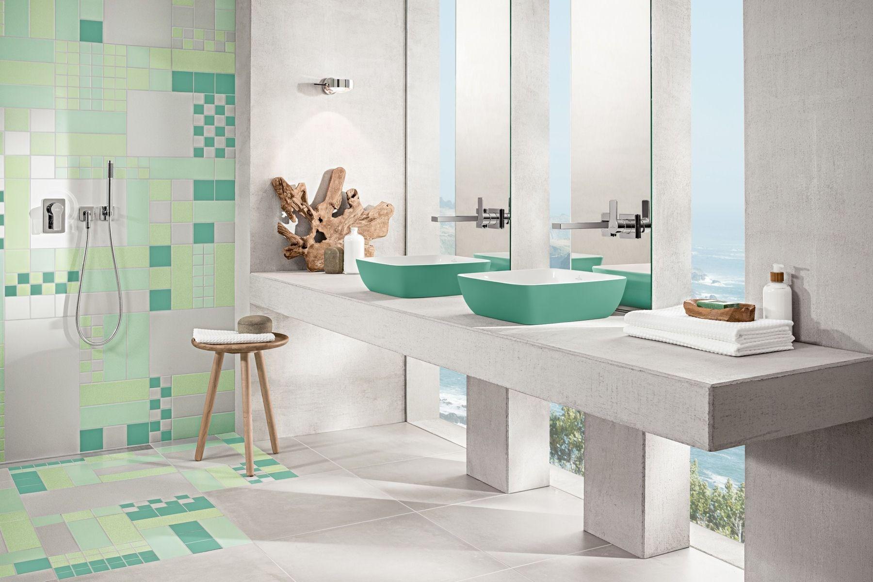 Salle De Bain Simple Et Moderne ~ une vasque poser moderne et color e des belles vasques et