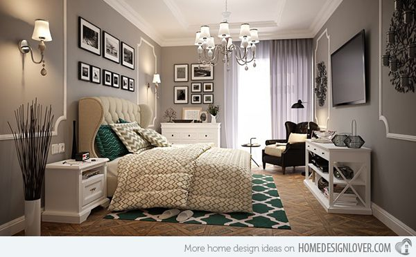 Modern Retro Bedroom Ideas 5