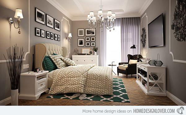Vintage Bedroom Decorating Ideas And Photos: 15 Modern Vintage Glamorous Bedrooms