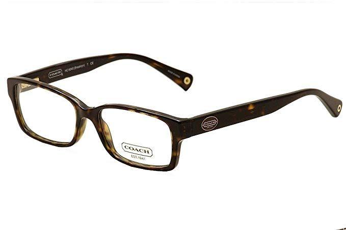 1de408a0606 Coach HC6040 Brooklyn Eyeglasses Review