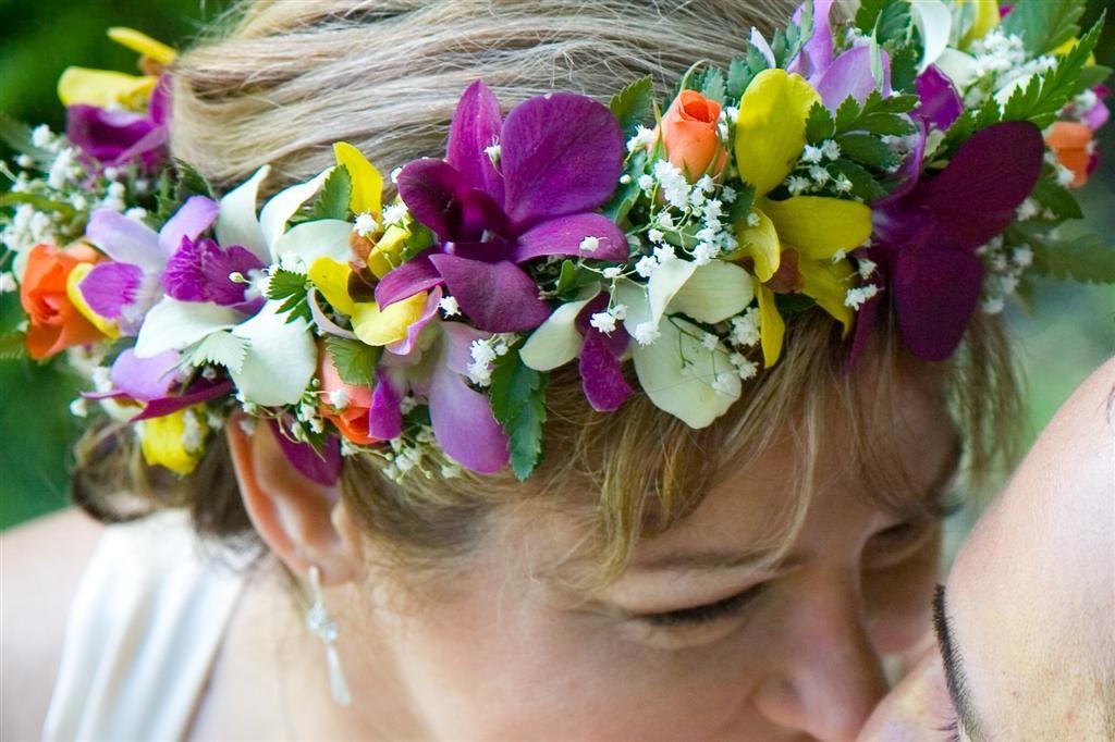 Orchid Rose Haku flowers for head | Flower crown, Hawaiian ...
