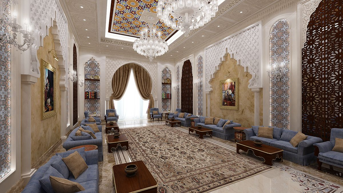 You can have a look at our lavish women majlis designs in the gallery - Moroccan Majlis On Behance