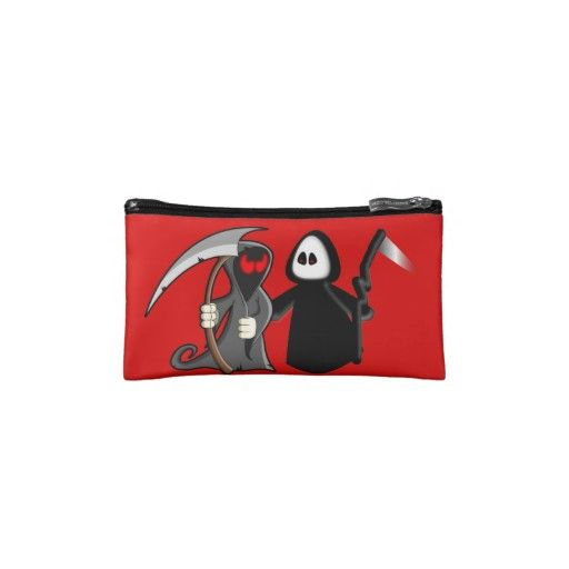 Grim Reaper Death Bagette Wristlet Bag