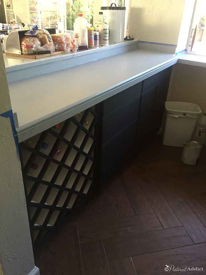 Can You Paint Over Granite Counters Pinterest Addict Painted