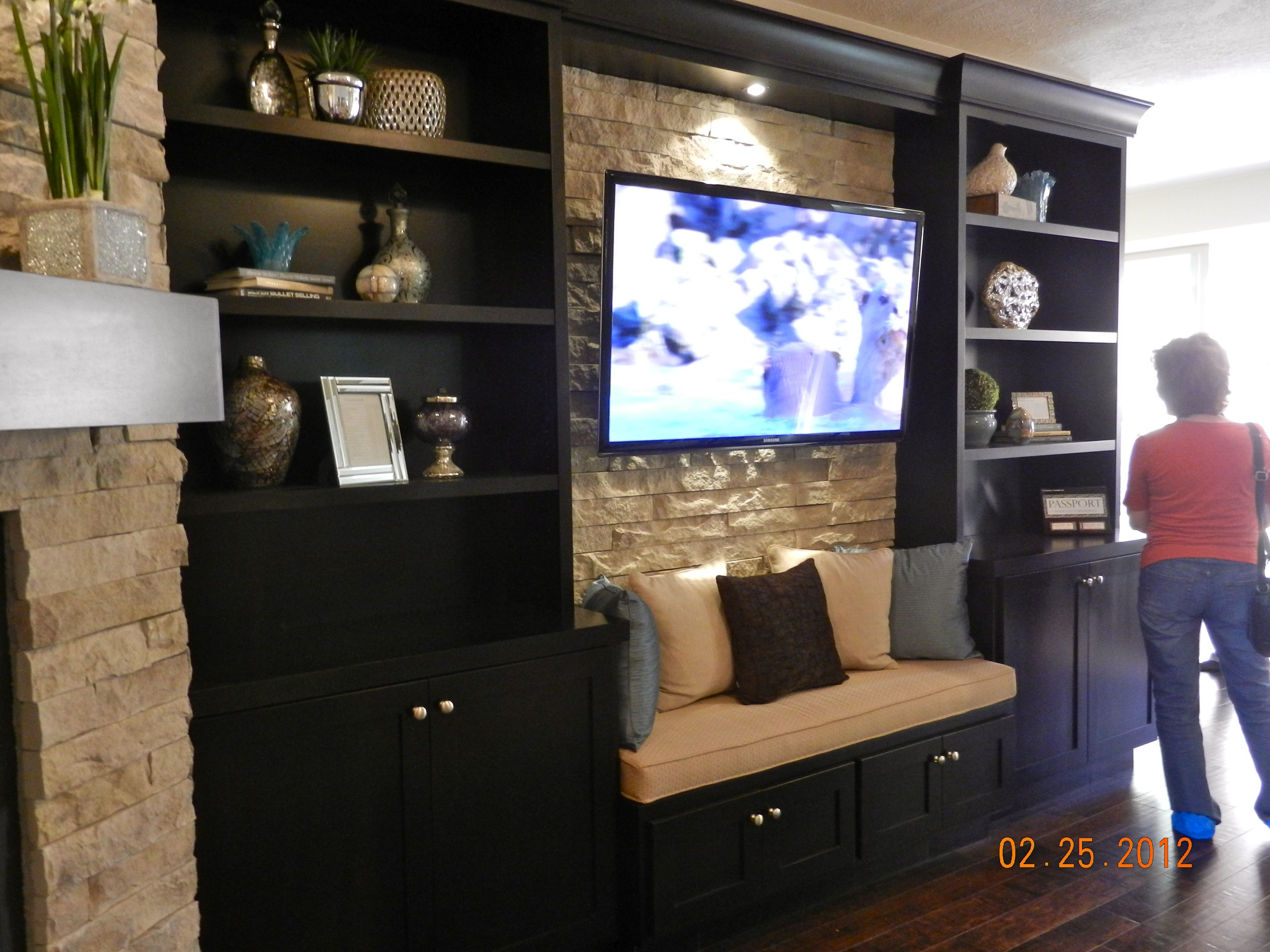 St. George Parade Of Homes Built In Entertainment Center