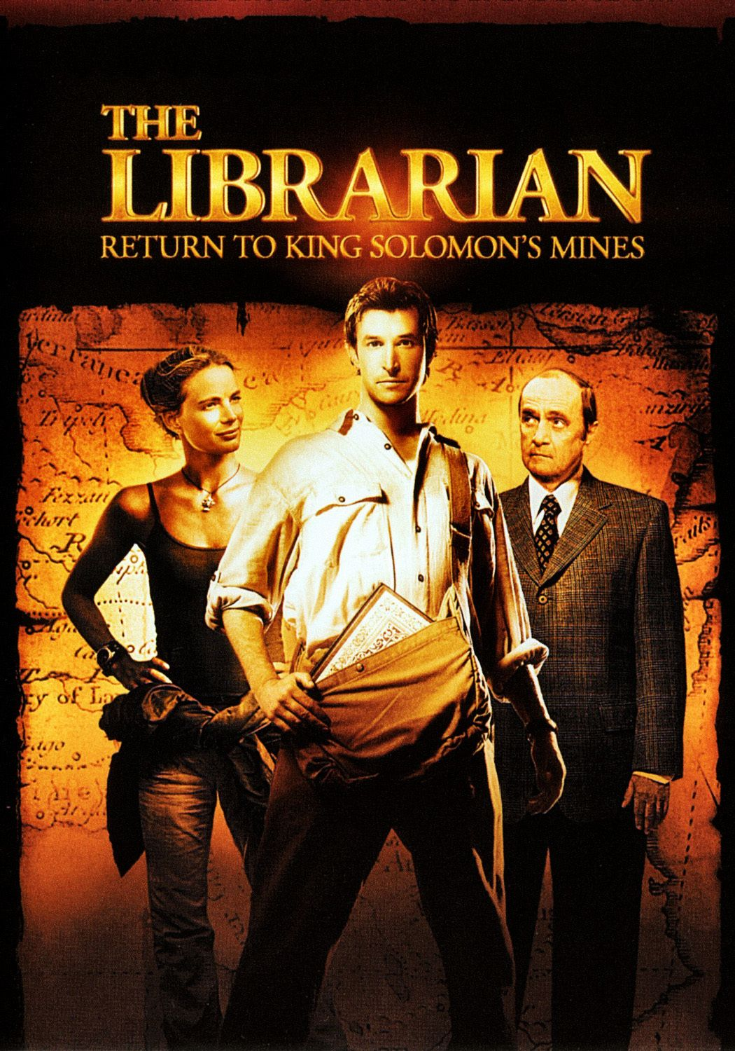 The Librarian Film Series Cast