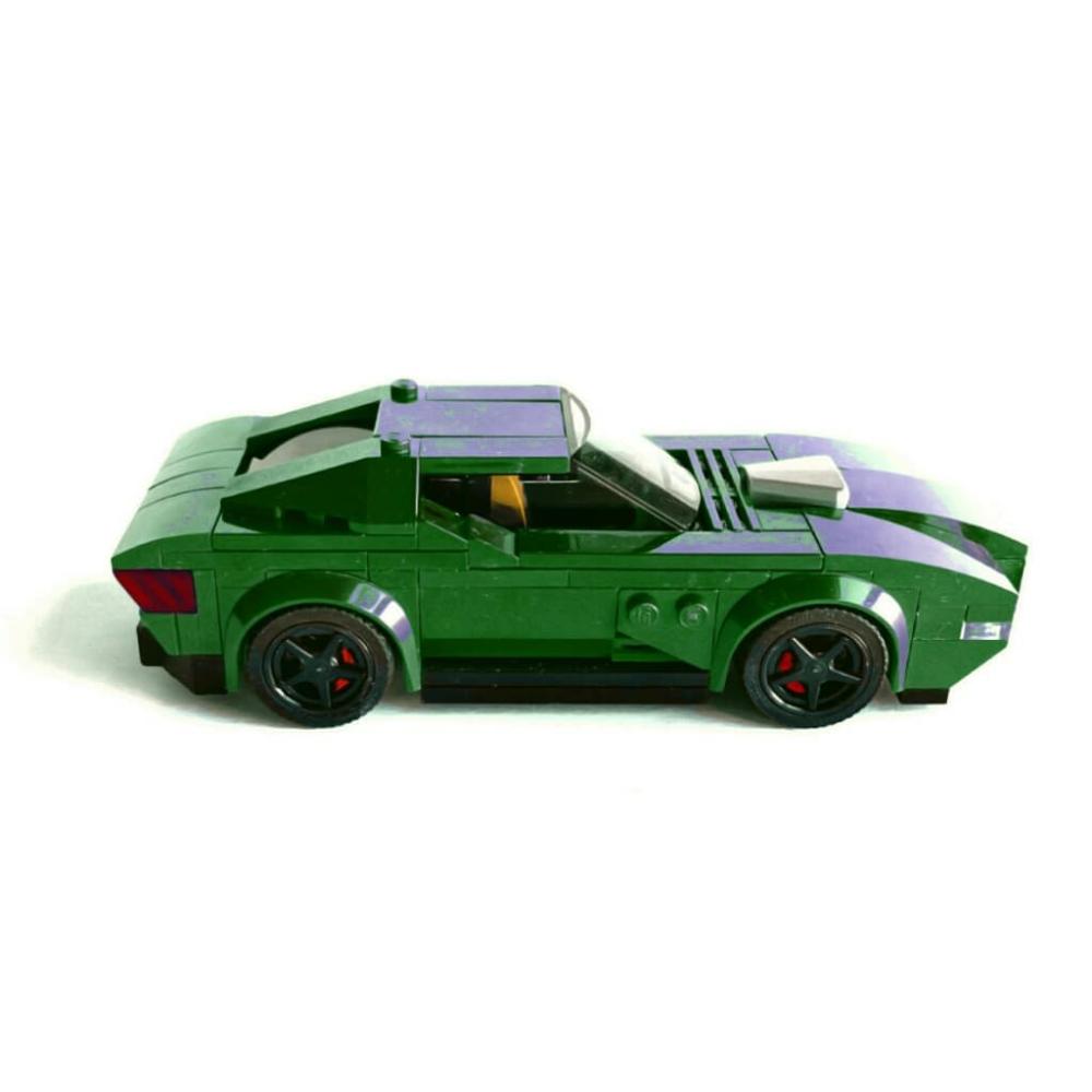 dsdvegabrick's Media: Muscle New Generation by Lego #lego #legoinstagram #legocar #car #carlovers #racer #supercars #gtcar #hypercar #conceptcars #racing🏁 #urbancar #sport #design #speedchampions #legospeedchampions #rider