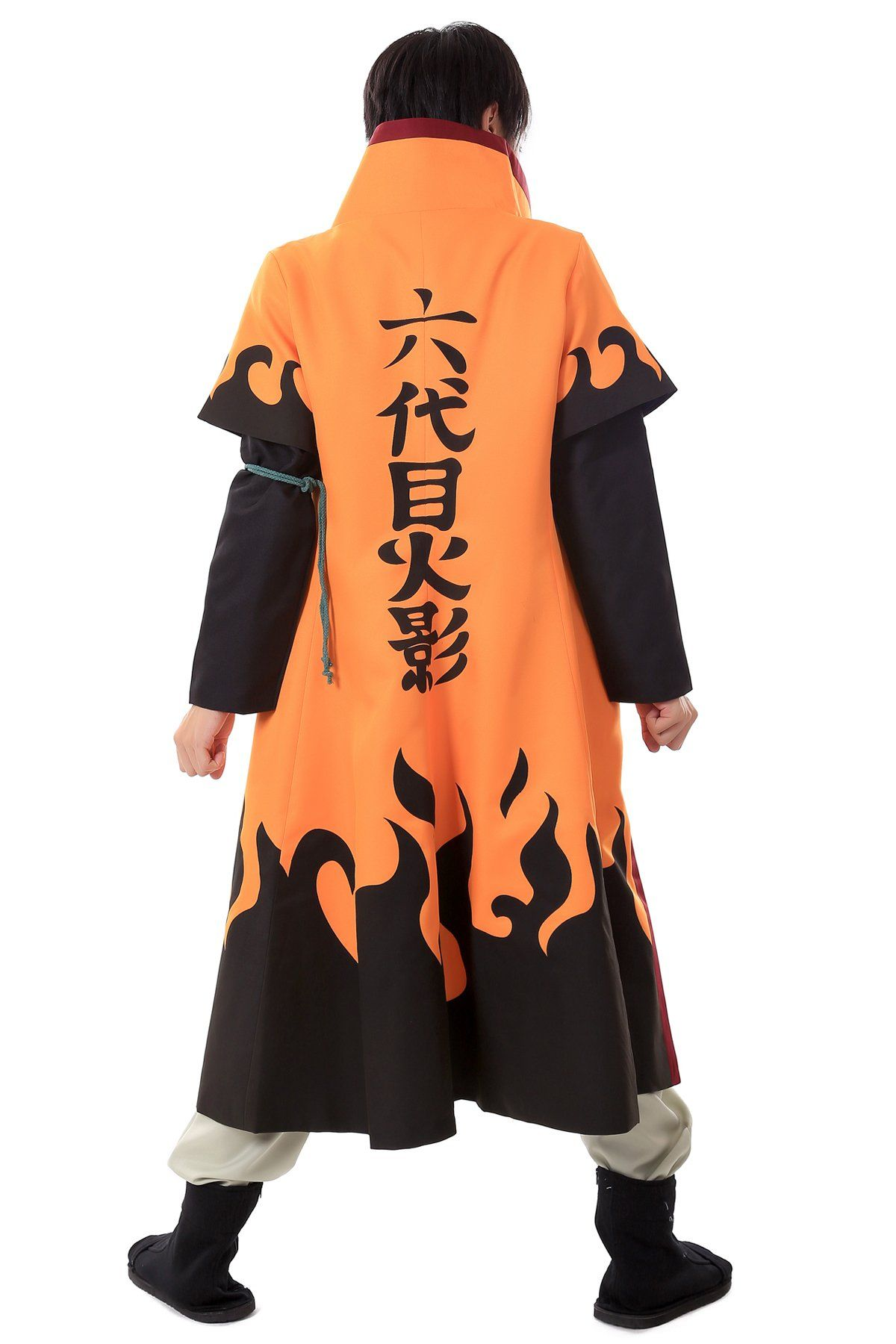 ICEMPs Cosplay Costume Hidden Leaf Uzumaki Naruto Rokudaime 6th Hokage Set Click Picture For Even More Details This Is An Affiliate Link