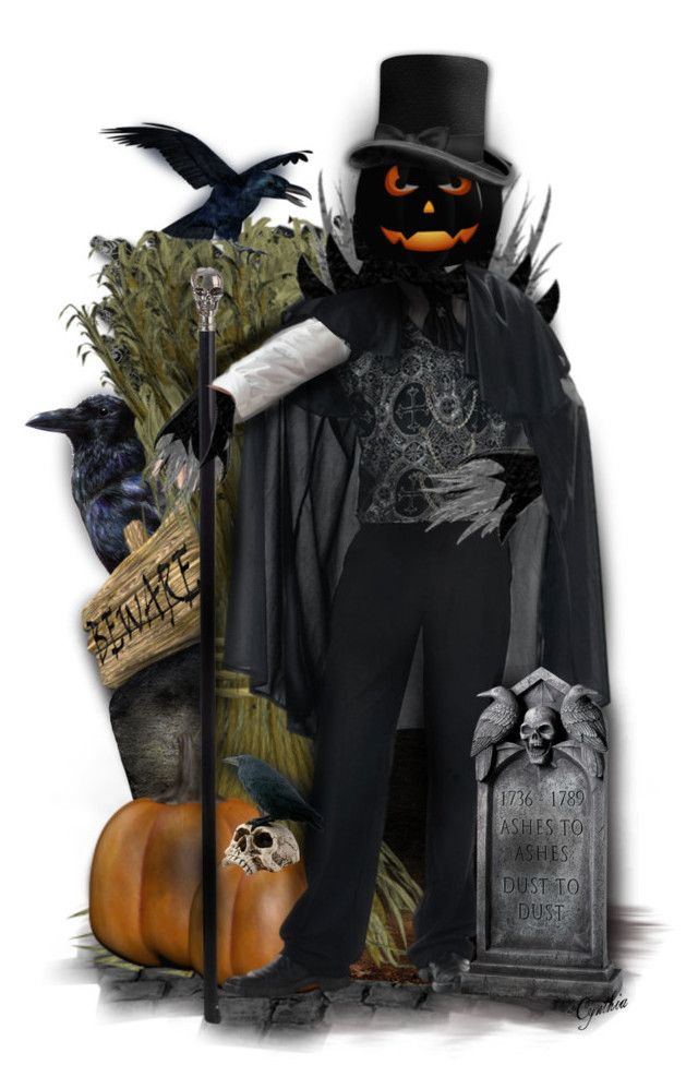 """Count Jack O'Lantern🎃"" by cindu12 ❤ liked on Polyvore featuring art"