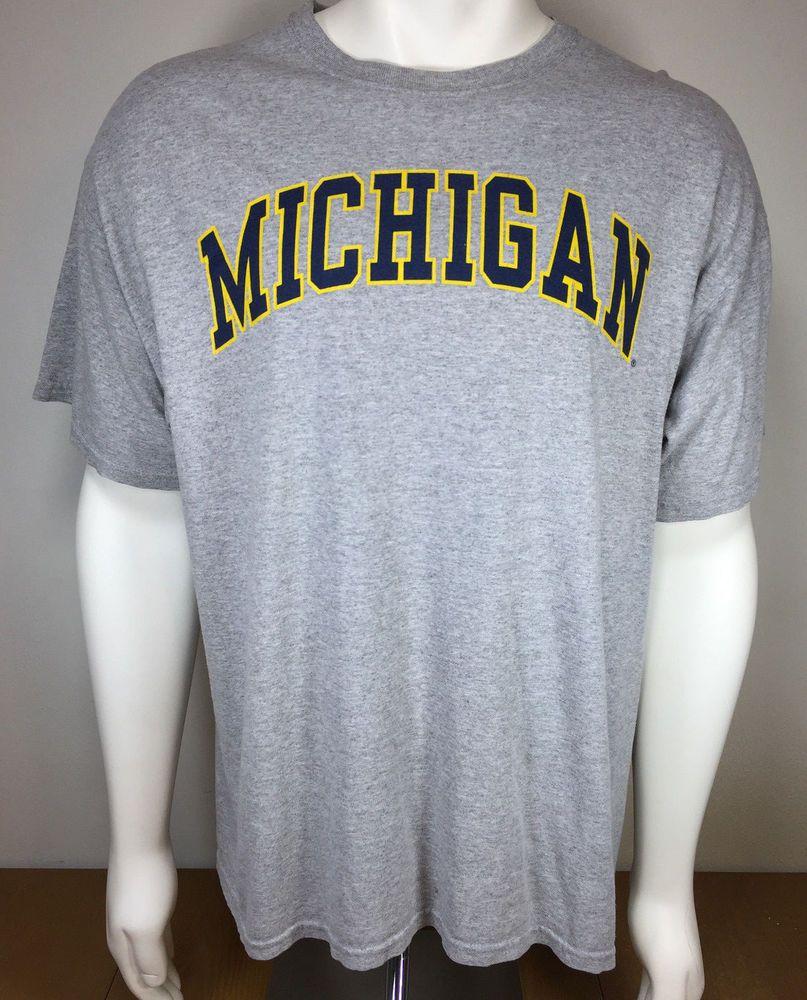 443889431b6 University of Michigan T Shirt mens Adult Size XL X Large  NewAgenda   GraphicTee