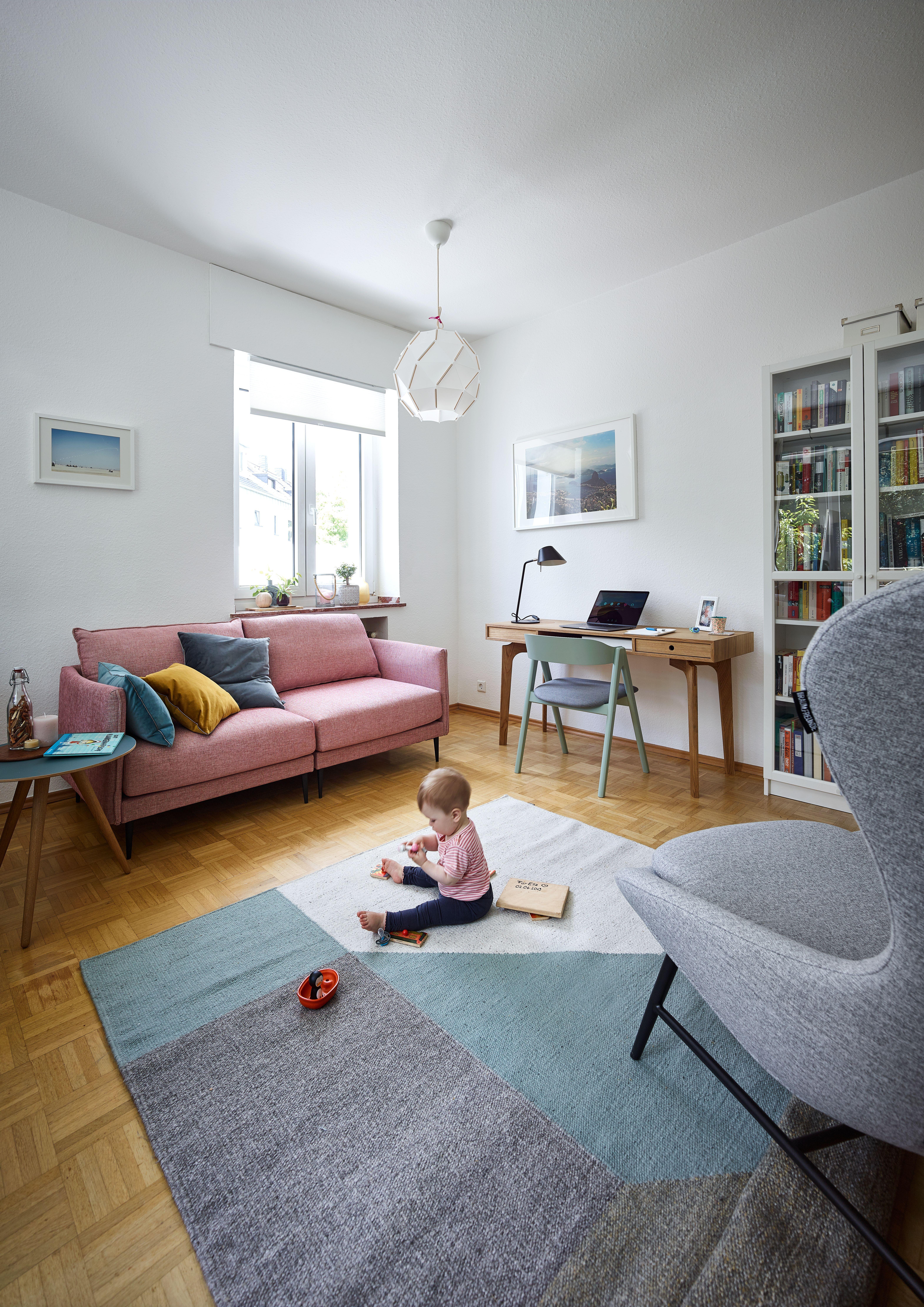 Raum Freunde Linn Haus Deko 2 Sitzer Sofa Zuhause
