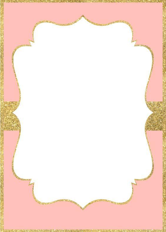 Resultado De Imagem Para Invitation Gold And Pink Planner Stickers