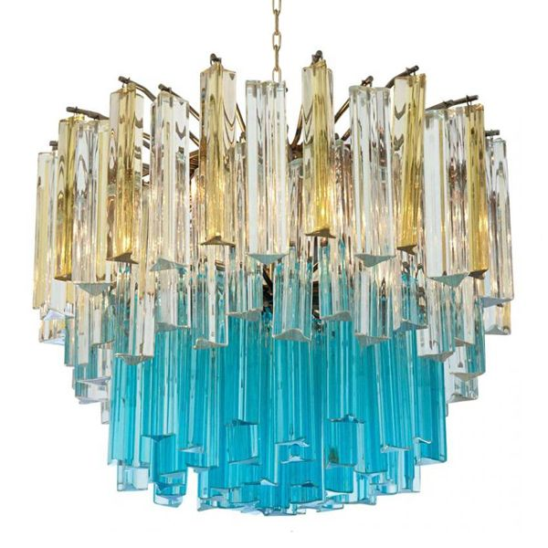1960s vintage murano glass chandelier turquoise glass pinterest 1960s vintage murano glass chandelier turquoise glass aloadofball Image collections
