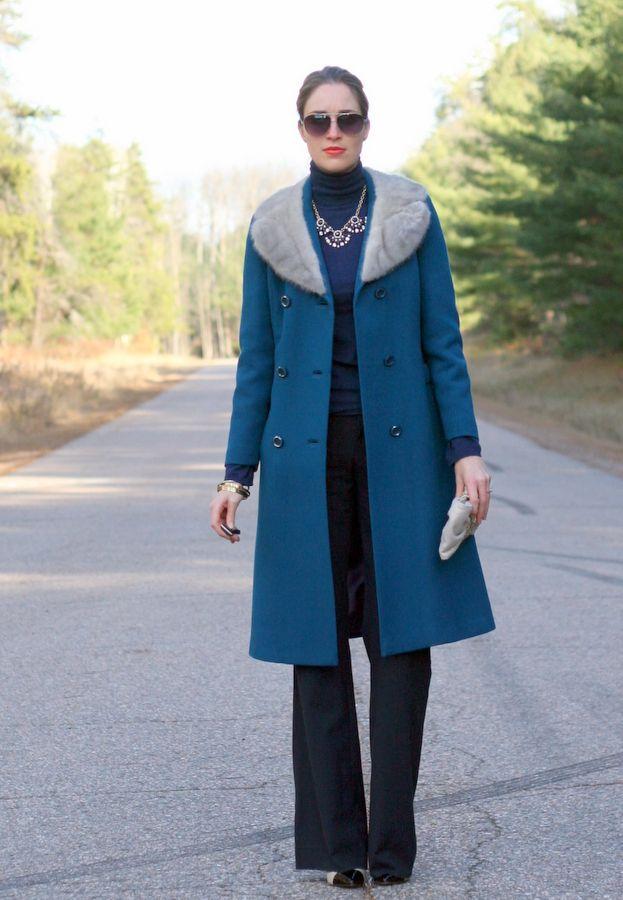 Teal vintage coat | Coats, Wool and Vintage