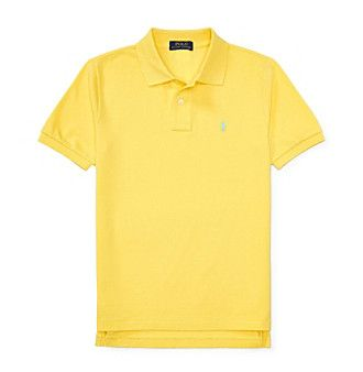 Polo Ralph Lauren® Boys' 8-20 Basic Mesh Top