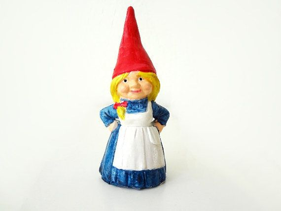 Amazing Female Gnomes Pictures | Girl Garden Gnome Figurine ∙ Creation By EVEnl On  Cut Out +