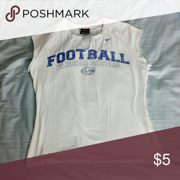 Florida Gators Nike Football Muscle Shirt Tank M Ladies
