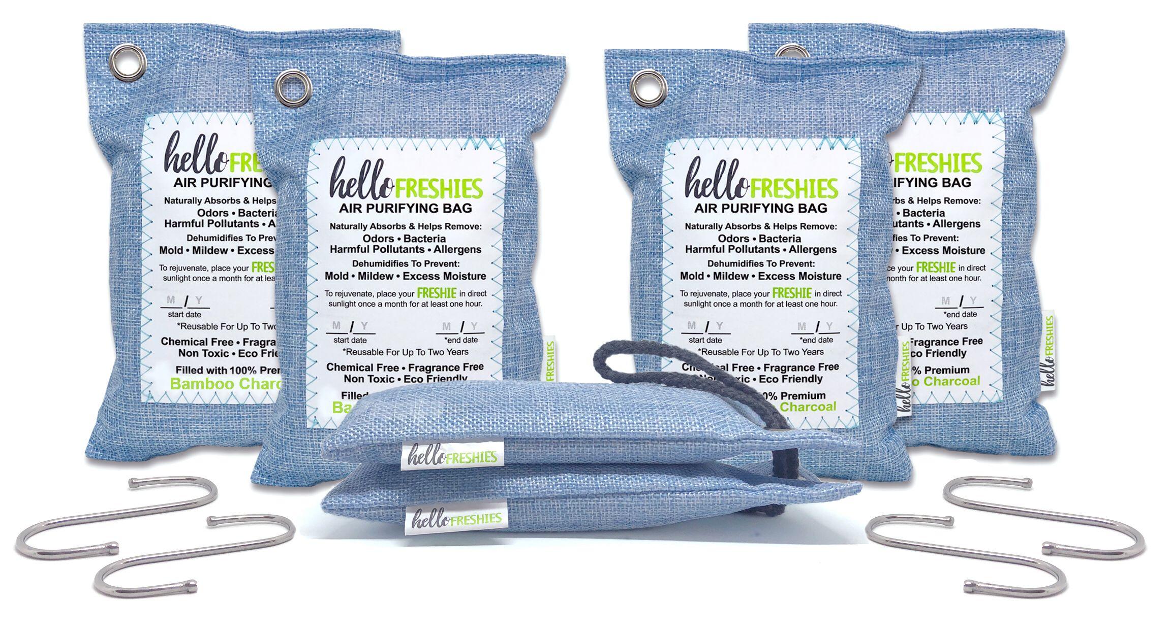 Hello Freshies Air Freshener Bags Air purifying bag, Air