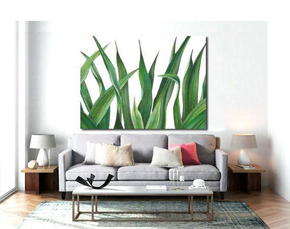Leaf print Poster PRINTABLE FILE BG4  palm tree palm by Dantell