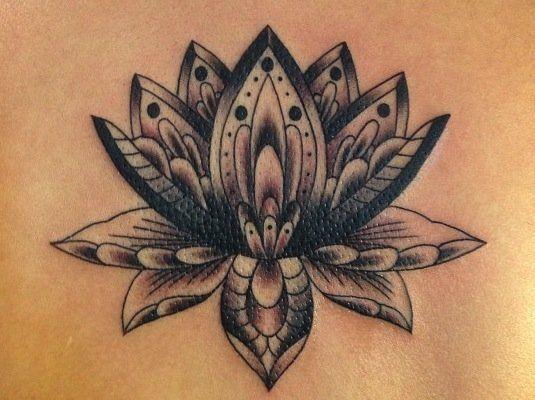 cute black lotus flower tattoos tattoos pinterest tattoo simple grey and lotus tattoo. Black Bedroom Furniture Sets. Home Design Ideas