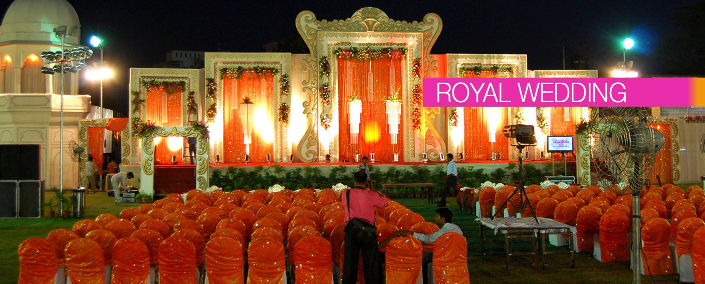 A Luxe Look In Radiant Orange For This Indian Wedding Floral Decorations Jaipur