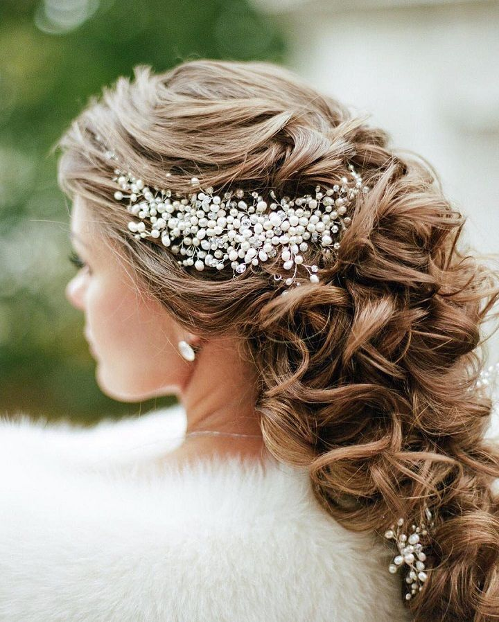 Half Up Wedding Hair Ideas: 32 Pretty Half Up Half Down Hairstyles