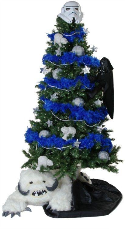 4 Geeky Christmas Trees! Pinterest Star wars christmas tree