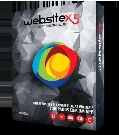 WebSite X5 é um programa para criar sites profissionais, blogs e lojas virtuais. Comece já a criar seus websites, sem precisar ter conhecimentos em programação